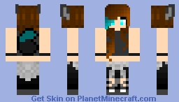 my new skin (I don't know what to name this..) Minecraft Skin