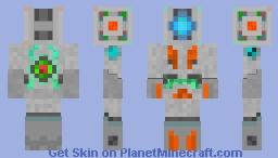 Melon robot Minecraft Skin