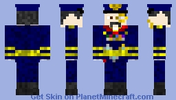 Soviet Marshal Uniform Minecraft Skin