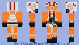 Luke Skywalker (X-Wing Helmet) [MOVIE] Minecraft Skin