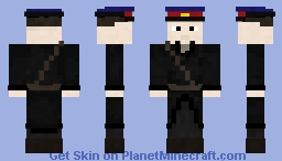 NKVD Officer (Leather Coat) Minecraft Skin