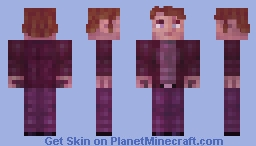 George O'George - that ginger character that no one even knows participated to the event. Minecraft Skin