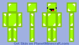 Green Boi Minecraft Skin