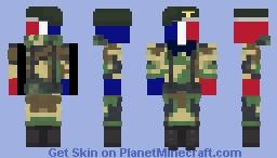 france Minecraft Skin