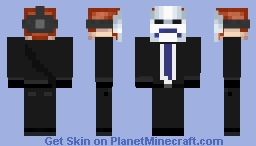 sad mask Minecraft Skin