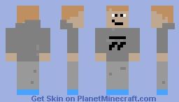 True Gamer V2 Minecraft Skin