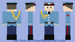 Serbian Honor Guard Minecraft Skin
