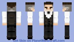 Colin Farrell - Fantastic Beasts Minecraft Skin