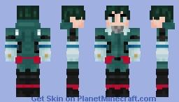 Deku | MHA | Izuku Midoriya Minecraft Skin