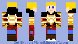 Jaune Arc (RWBY volume 4-6) Minecraft Skin