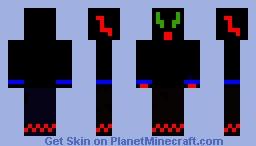 Lizzard Blizzard Minecraft Skin