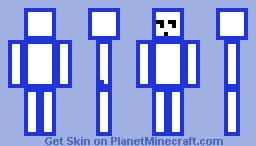 Cube Minecraft Skin