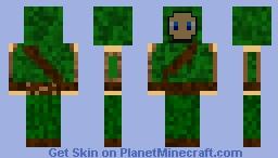 Hooded Raider (1st Version) Minecraft Skin