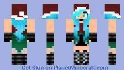Christmas girl Minecraft Skin