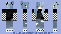 Cute kawai Minecraft Skin