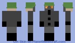 WW1 German soldier with gas mask Minecraft Skin