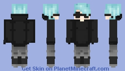 Cool guy with shades Minecraft Skin