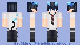 Rin Okumura Minecraft Skin