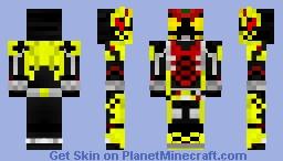 Kamen Rider Zero-One WakeUpping Kiva Minecraft Skin