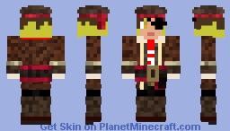 Pirate Kenma Kozume Minecraft Skin