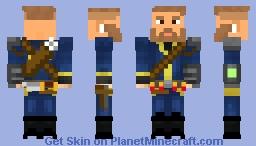 Minecraft Survivalist: Fallout/Road Warrior Inspired Minecraft Skin