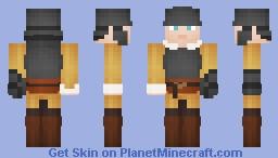 English Civil War Roundhead Minecraft Skin
