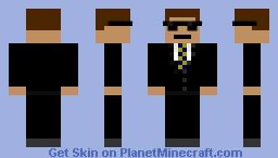 Agent Smith Minecraft Skin