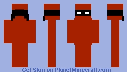 Red Ninja Minecraft Skin