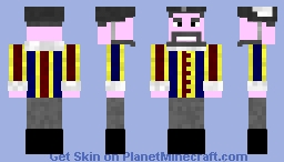 The Doctor: Ist incarnation (Brian of Morbius) Minecraft Skin