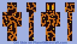 MAGMA MONSTER Minecraft Skin