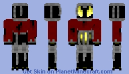 flame of misery Minecraft Skin