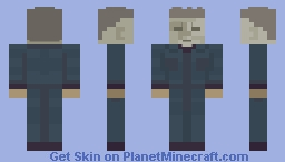 Simple Myers Minecraft Skin