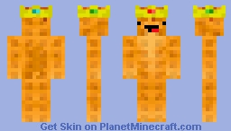 KING WAFFLE Minecraft Skin