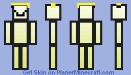Banana Man - Off the Sticks Minecraft Skin