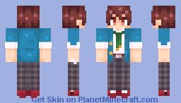 [Ensemble Stars!] Chiaki Morisawa Minecraft Skin