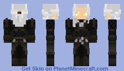 Netflix Witcher Geralt Of Rivia Minecraft Skin