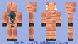 Hoglin Minecraft Skin