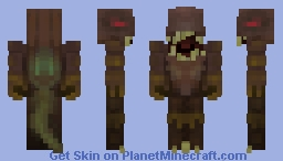 Nodd, the mysterious creature of the Nether Minecraft Skin