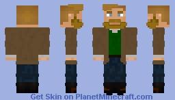Adams Keenly (History Professor) Minecraft Skin