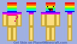 DERPY ICE CREAM Minecraft Skin