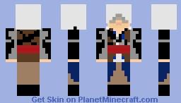 edward kenway Minecraft Skin