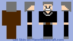 Count Dooku (Prequel) Minecraft Skin