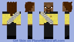 Startrek The next generation. Leutenant Commander Worf(Contest entry) Minecraft Skin