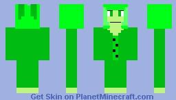 A Very, very, very late Secret Santa Skin for Something Springlock Minecraft Skin