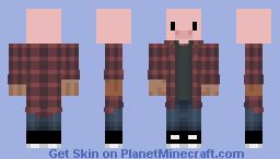 my skin with a pig head Minecraft Skin