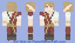 Elven Scholar Minecraft Skin