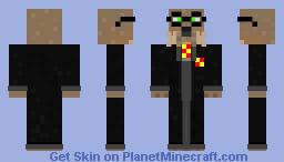 Hairy Otter Minecraft Skin