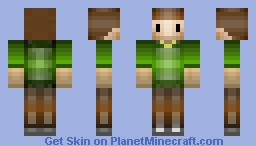 Simple green Minecraft Skin