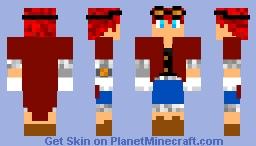 auto mail Minecraft Skin