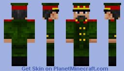 Joseph Stalin Minecraft Skin